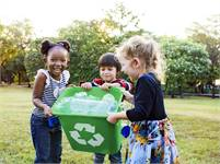 Getting Kids Into Recycling